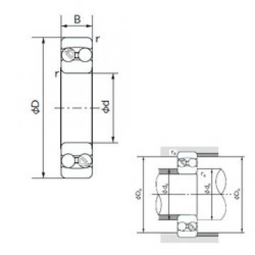 NACHI 2315 self aligning ball bearings