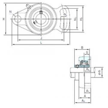 NACHI UCFA204 bearing units
