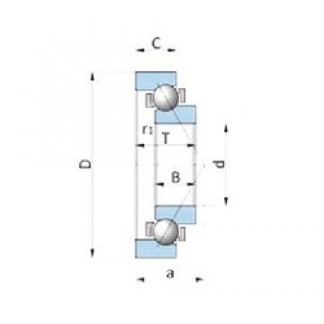 NACHI 200BA27V-2 angular contact ball bearings