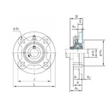 NACHI UCFC205 bearing units