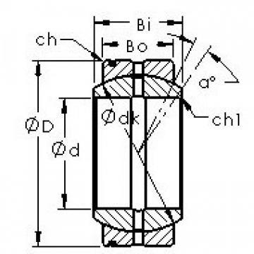 AST GE25XS/K plain bearings
