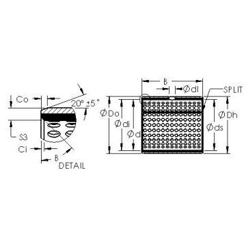 AST AST800 7560 plain bearings