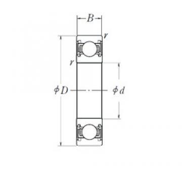 NSK 30TM05-A-2C3 deep groove ball bearings