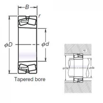 NSK TL22322EAKE4 spherical roller bearings