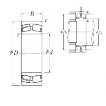 NSK 24026CE4 spherical roller bearings