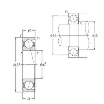 NTN 7952 angular contact ball bearings