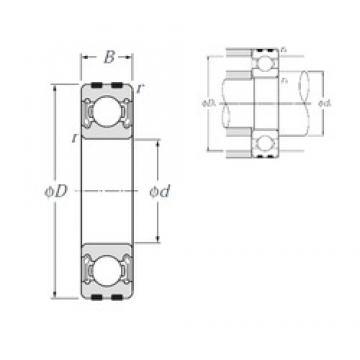 NTN EC-6201LLB deep groove ball bearings
