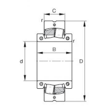 FAG 230SM300-MA spherical roller bearings