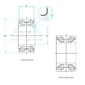 FAG 521771D angular contact ball bearings