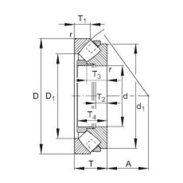 FAG 292/600-E-MB thrust roller bearings
