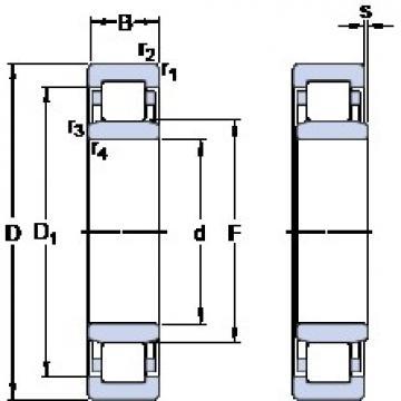 SKF NU 326 ECM/C3VL2071 cylindrical roller bearings