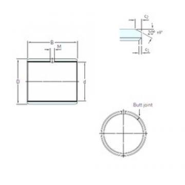 SKF PCM 060806 E plain bearings
