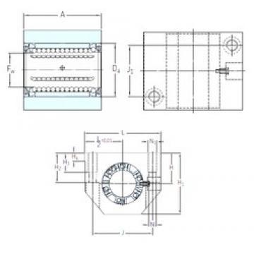 SKF LUND 20 linear bearings