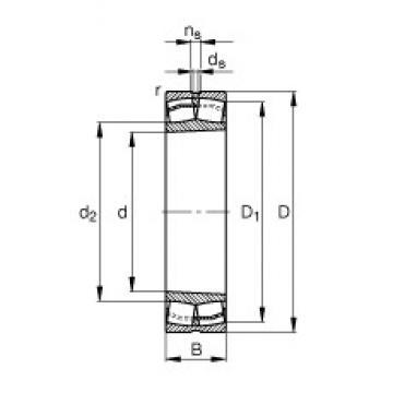 FAG 22222-E1-K spherical roller bearings