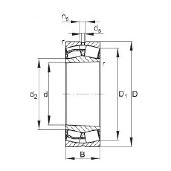 FAG 24026-E1-K30 spherical roller bearings #2 image