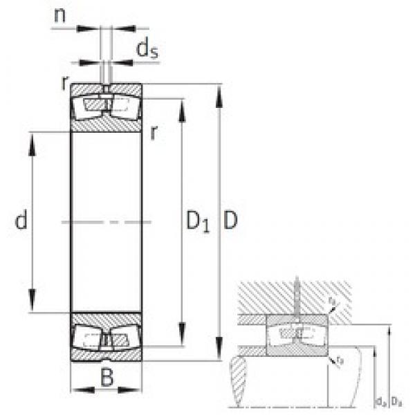 FAG 22244-B-MB spherical roller bearings #2 image