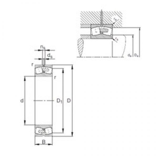 FAG 22264-E1A-MB1 spherical roller bearings #2 image