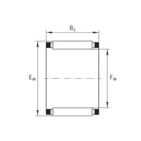 INA K75X81X20 needle roller bearings #3 image