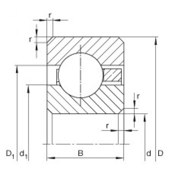 INA CSCB040 deep groove ball bearings #3 image