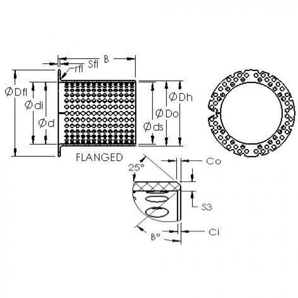 AST ASTT90 F15060 plain bearings #2 image