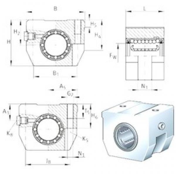 INA KGHK40-B-PP-AS bearing units #3 image