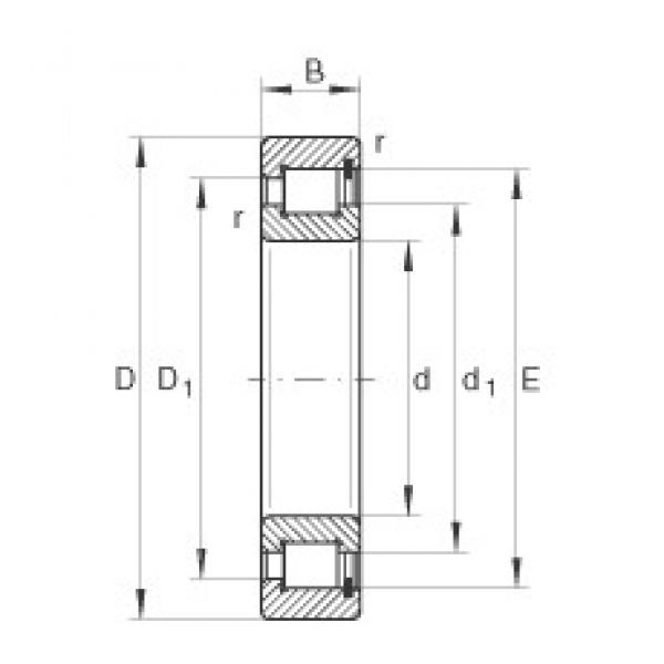 INA SL182922 cylindrical roller bearings #3 image