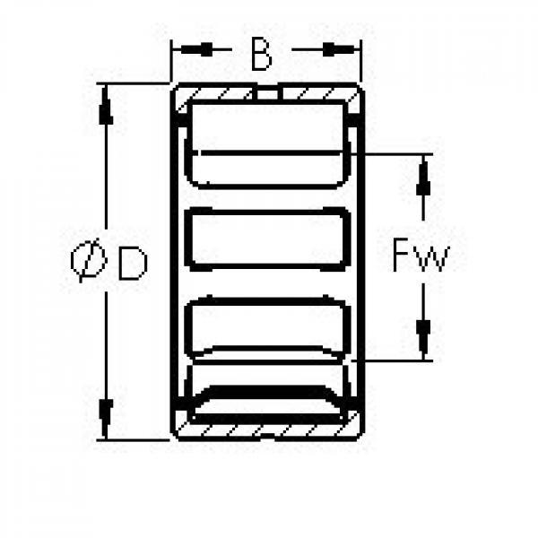 AST NK7/12TN needle roller bearings #2 image