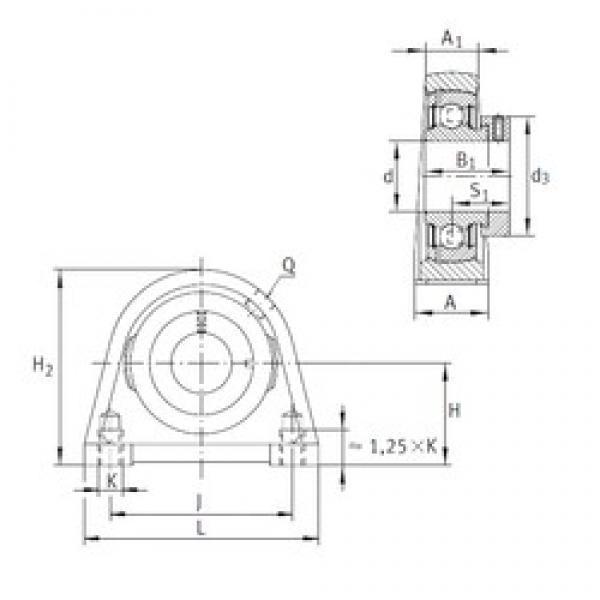 INA PSHE35-N bearing units #3 image