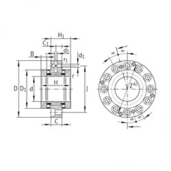 INA ZARF70160-TV complex bearings #3 image