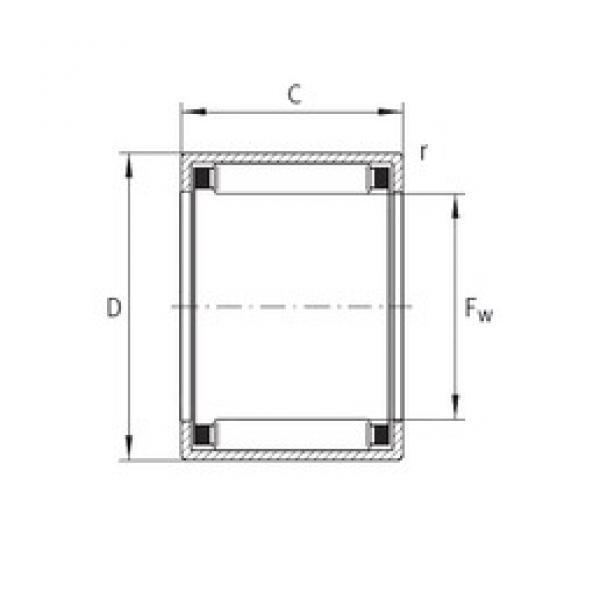 INA SCE2620 needle roller bearings #3 image