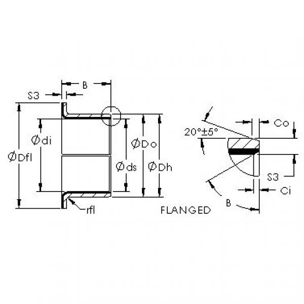 AST AST40 F20165 plain bearings #2 image