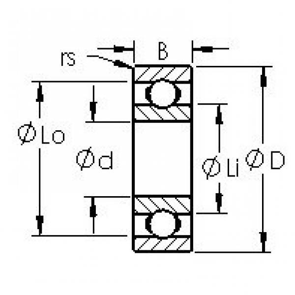 AST SMR83 deep groove ball bearings #2 image