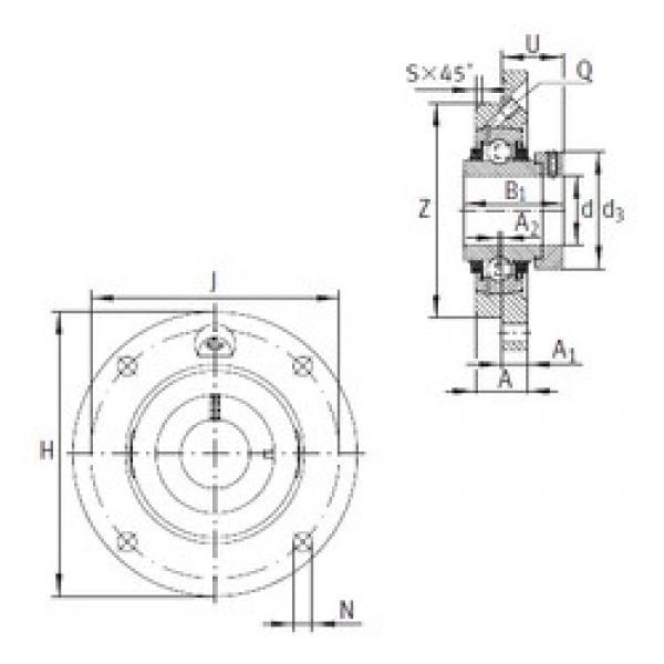 INA TME30-N bearing units #3 image