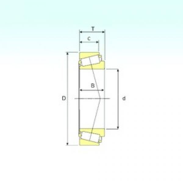 ISB 32221 tapered roller bearings #2 image