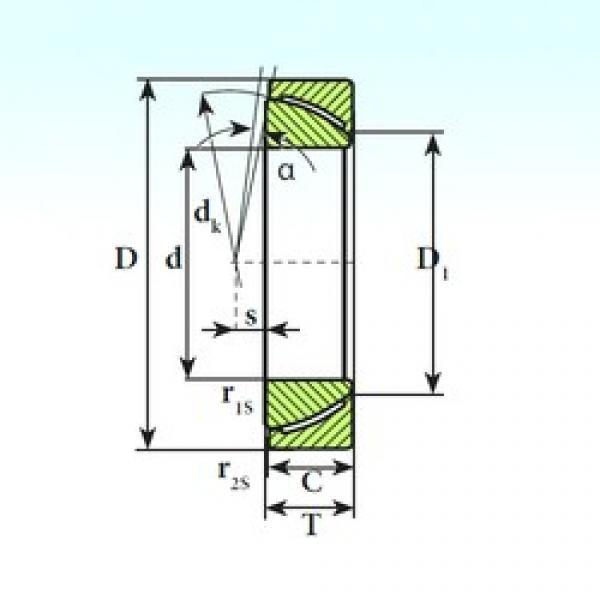ISB GAC 35 CP plain bearings #2 image