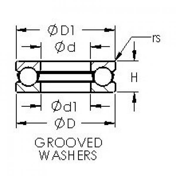 AST 51107 thrust ball bearings #2 image