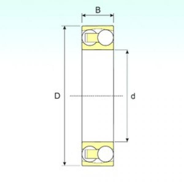 ISB 2218 self aligning ball bearings #2 image