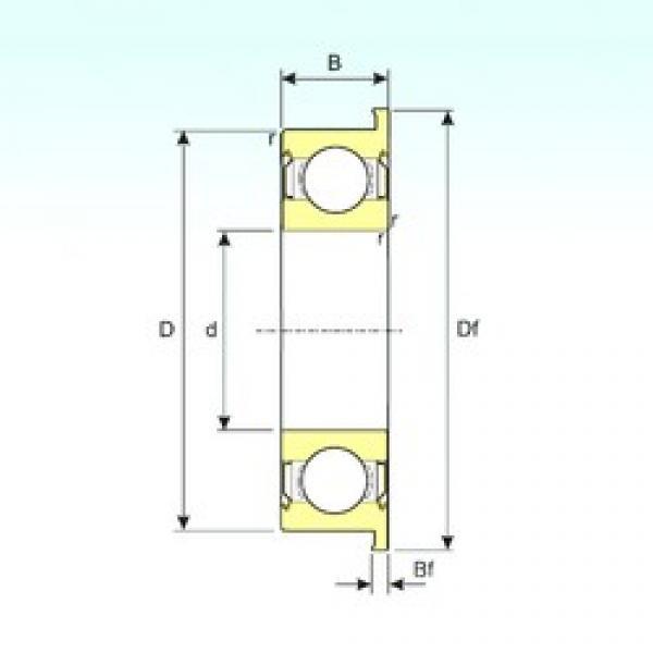 ISB F603ZZ deep groove ball bearings #2 image