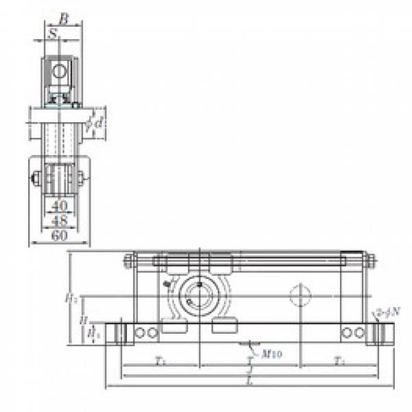 KOYO UCTL205-200 bearing units #2 image