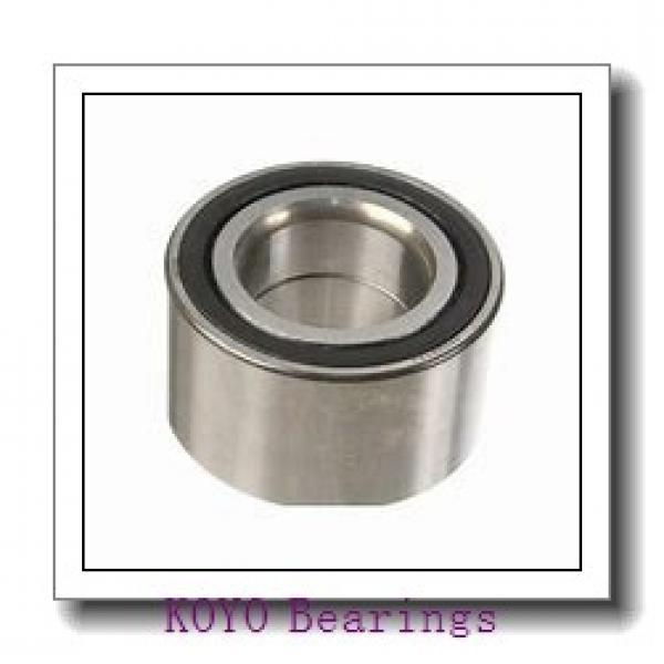 KOYO KAX030 angular contact ball bearings #1 image