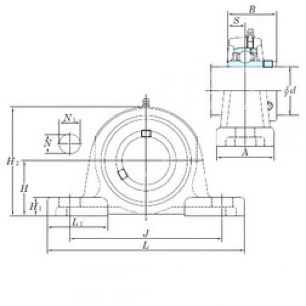 KOYO UCPX20-64 bearing units #2 image