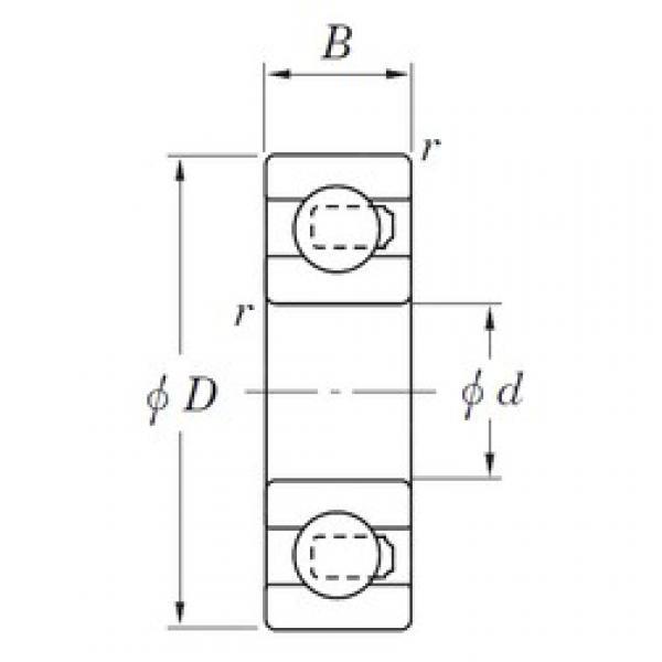 KOYO 3NC627ST4 deep groove ball bearings #2 image