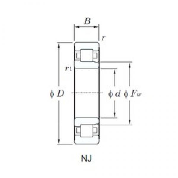 KOYO NJ2332 cylindrical roller bearings #2 image