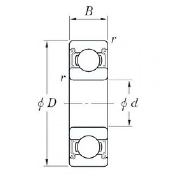KOYO SV 627 ZZST deep groove ball bearings #2 image