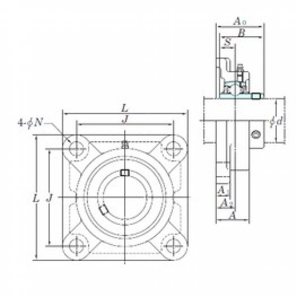 KOYO UCF207-20E bearing units #2 image