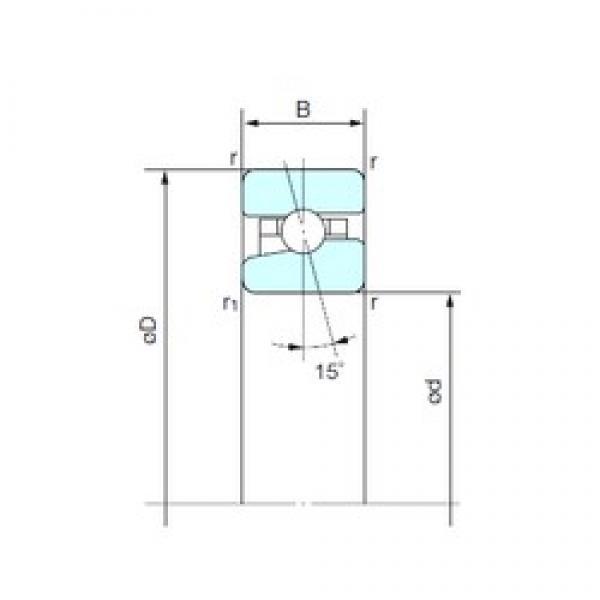 NACHI BNH 010 angular contact ball bearings #2 image