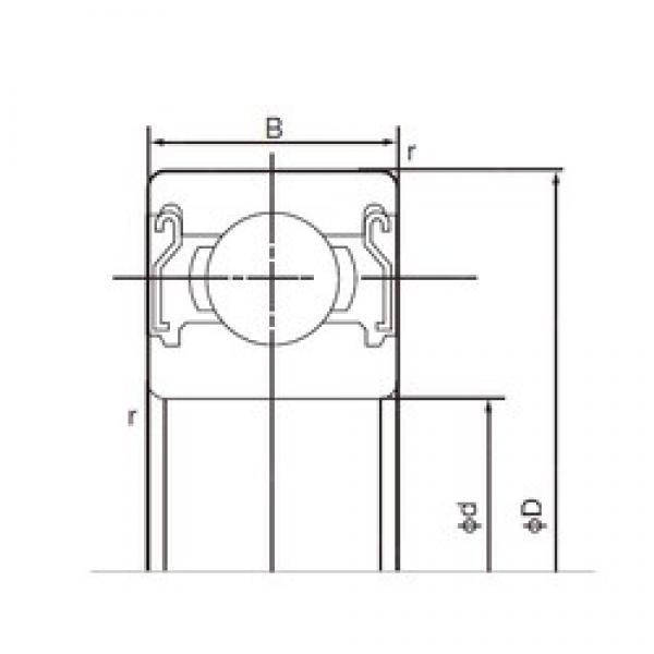 NACHI 6304ZZE deep groove ball bearings #2 image