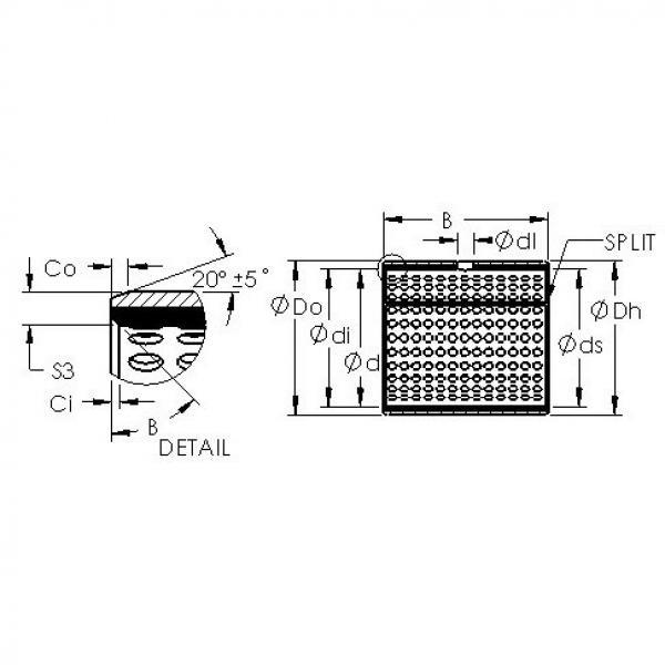 AST AST800 11580 plain bearings #2 image
