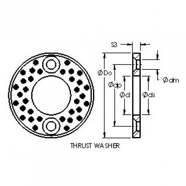 AST AST650 WC75 plain bearings #2 image