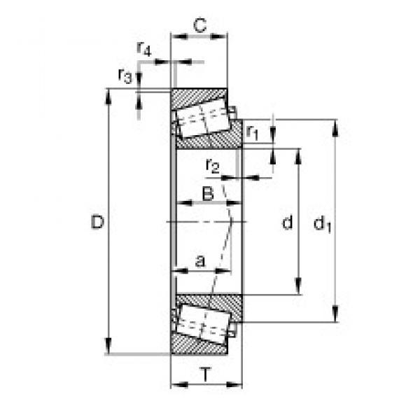 FAG 32220-XL tapered roller bearings #2 image